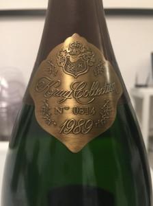 Il dettaglio della bottiglia